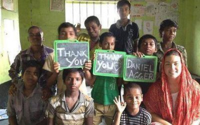 The Agger Foundation support vulnerable children in India