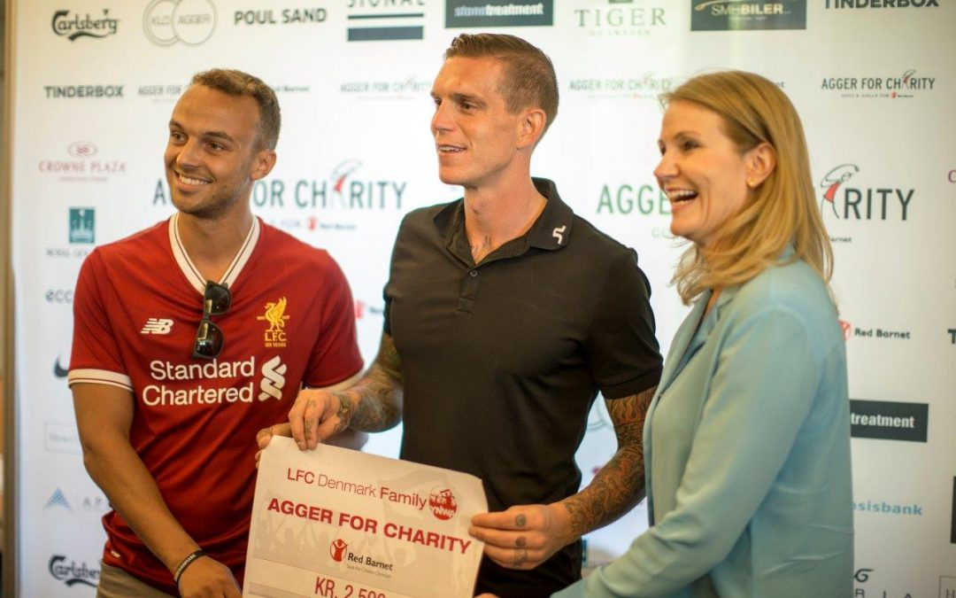 LFC Redmen Family donates to The Agger Foundation