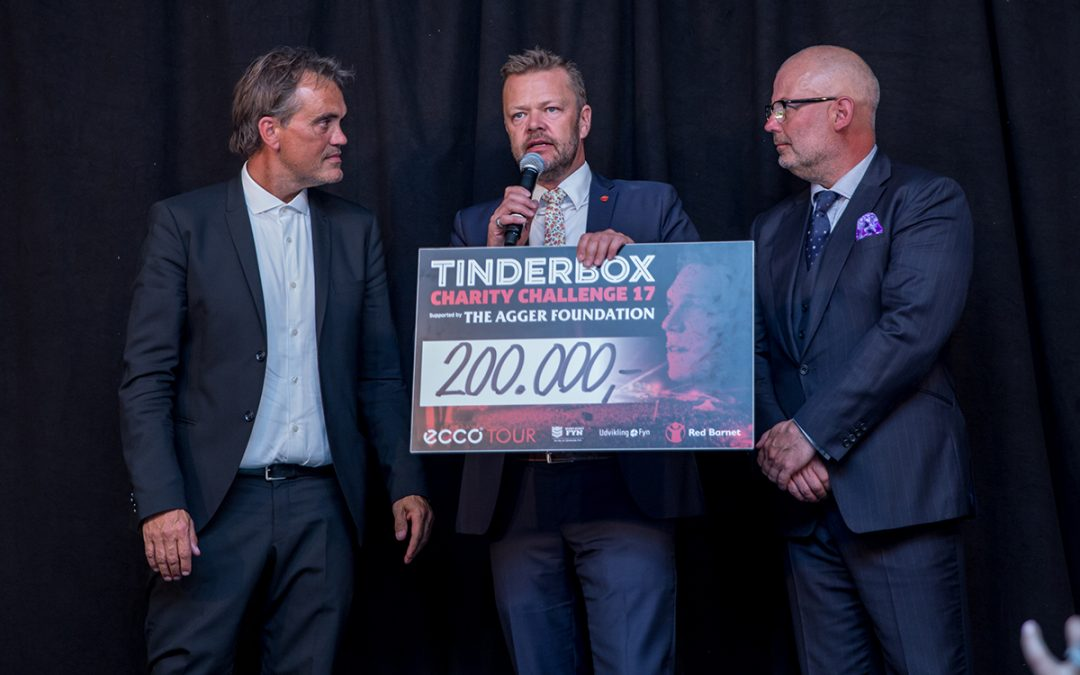 Tinderbox Charity Challenge supported by The Agger Foundation
