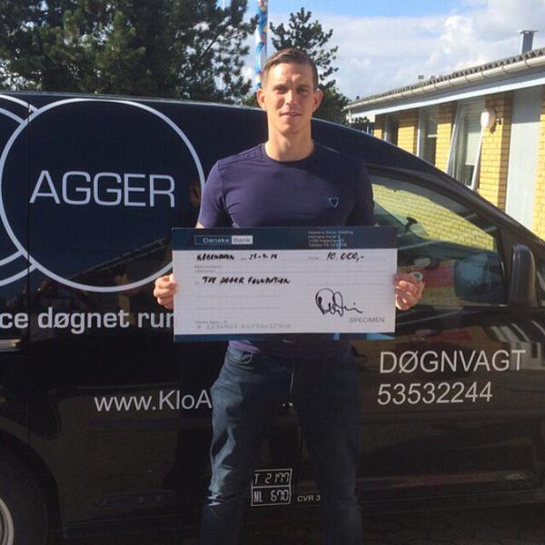 Liverpool FC fan club Danish branch donates to  The Agger Foundation