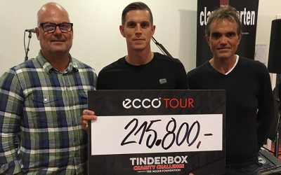 Tinderbox's charity challenge supports  The Agger Foundation with generous amount