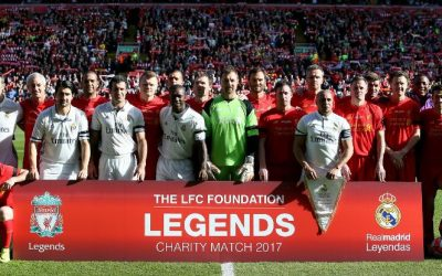 Daniel Agger Returns to Anfield  for the 2017 Charity Match