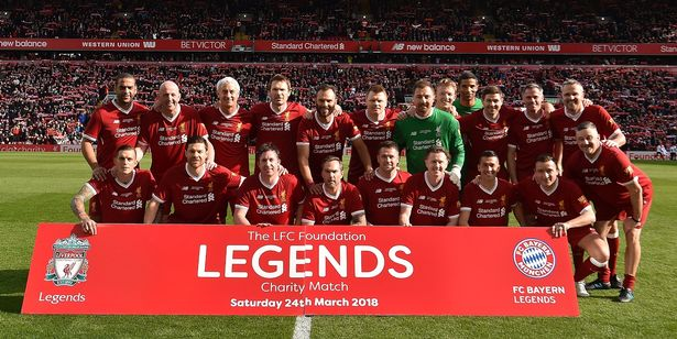 the mirror rights Liverpool-FC-Legends-v-FC-Bayern-Legends-Friendly-Match